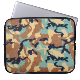 Army Camouflage Pattern Laptop Sleeve