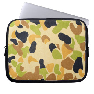 Army Camouflage Pattern Laptop Sleeves