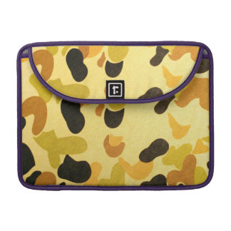 Army Camouflage Pattern MacBook Pro Sleeves
