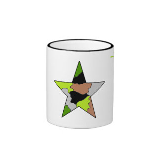 army coffee cup ringer mug