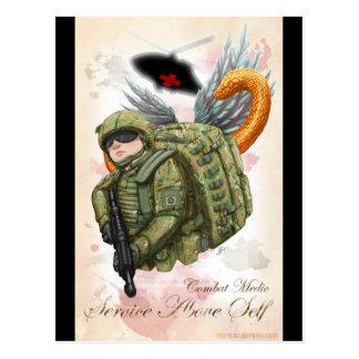 ARMY Combat Medic Service Above Self Postcard