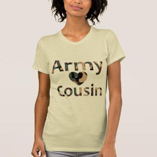 Army Cousin Heart Camo Shirts