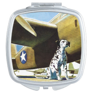 Army Dog Compact Mirror