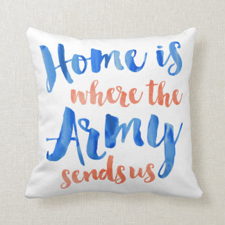 Army Duty Station Customizable Pillow