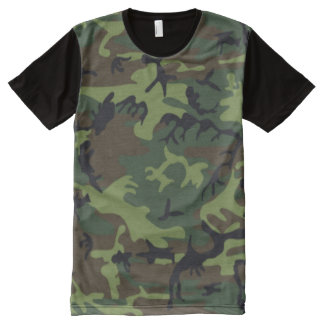 army green camo All-Over print T-Shirt