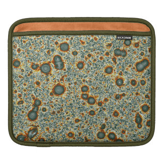 Army Green Fractal Vortex Sea iPad Sleeve