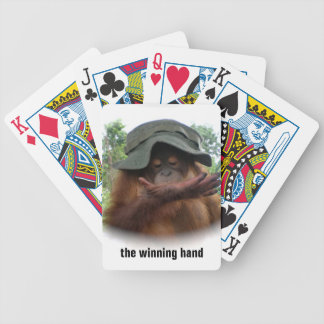 Army Hat Bicycle Playing Cards