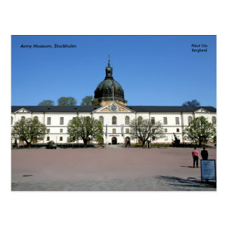 Army Museum, Stockholm, Phtot Ola... Postcard