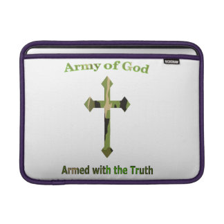 Army of God Christian products MacBook Air Sleeve