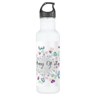 Army of love 710 ml water bottle