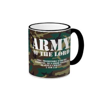 Army of the Lord, Bible Scripture Camo Coffee Mug
