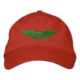 Army Pilot Embroidered Baseball Cap