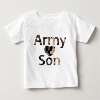 Army Son Heart Camo Tshirt