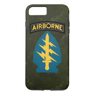 "Army Special Forces ""Green Berets"" Army Green Camo iPhone 7 Plus Case"