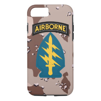 "Army Special Forces ""Green Berets"" Desert Camo iPhone 7 Case"