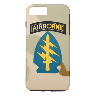 "Army Special Forces ""Green Berets"" Desert Camo iPhone 7 Plus Case"