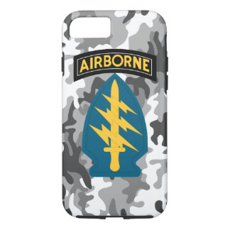 "Army Special Forces ""Green Berets"" Urban Camo iPhone 7 Case"