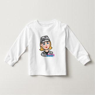 Army Urban Camo Head Blonde Tee Shirt