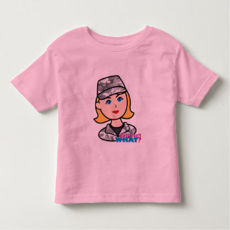 Army Urban Camo Head Blonde Shirts