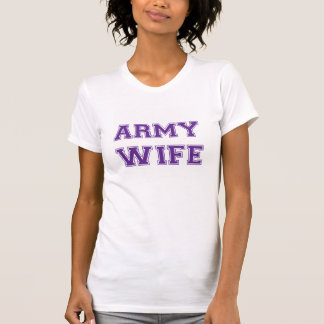 Army Wife 34 T-shirt
