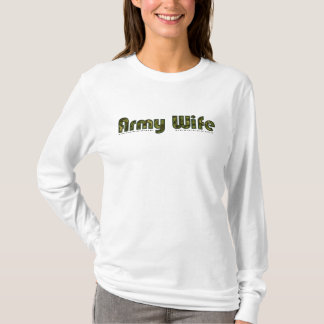Army wife camouflage womens hoodie
