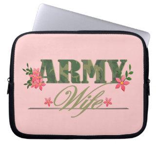 Army Wife Computer Sleeve