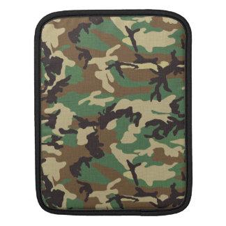 Army Woodland Camouflage iPad Sleeve