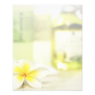 Aromatherapy Spa Skin Care Massage Salon 11.5 Cm X 14 Cm Flyer