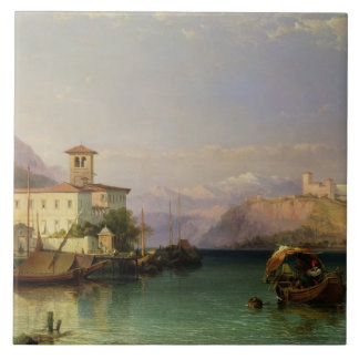 Arona and the Castle of Angera, Lake Maggiore, 185 Tile