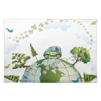 Around the World Placemat