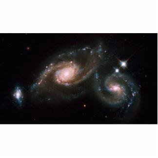 Arp 274 Galaxies NASA Space Photo Sculptures