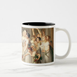 Arrival of Marie-Louise de Habsbourg-Lorraine Two-Tone Coffee Mug
