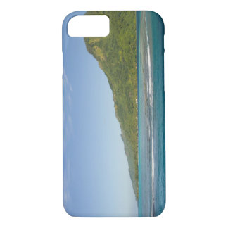 Arriving by ferry to Moorea, French Polynesia iPhone 8/7 Case