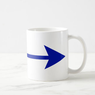 Arrow Blue Dk Straight The MUSEUM Zazzle Gifts Mug