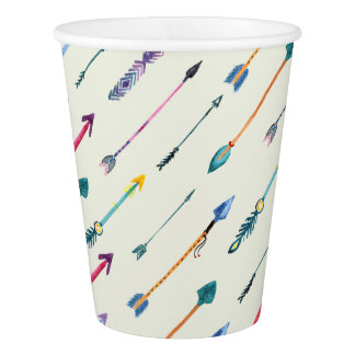 Arrows Attack Paper Cup