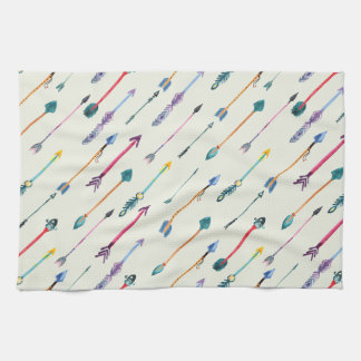 Arrows Attack Tea Towel