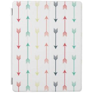 Arrows Colorful Fun Modern Pattern Rainbow iPad Cover