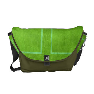 Art101 BOLLYWOOD Diva - Satin Silk Green Commuter Bag