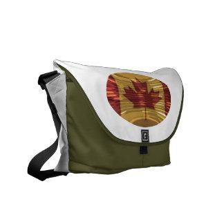 Art101 Cute Simple Design Canadian Maple Leaf Commuter Bag