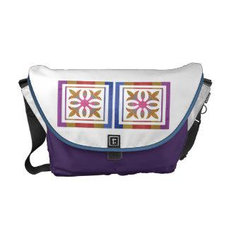 Art101 Cute Simple Design Color Pallet Commuter Bags