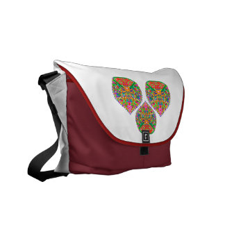 Art101 Exotic Jewel by Navin Courier Bag