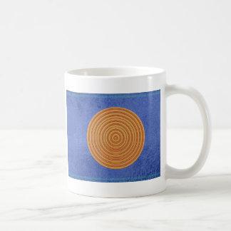 Art101 Gold Seal - Blue Berry Satin Silk Blanks Coffee Mug