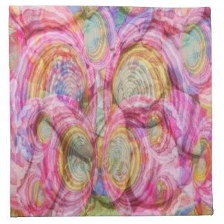 Art101 PINK Graffiti  - Exotic Sea Shells Napkin