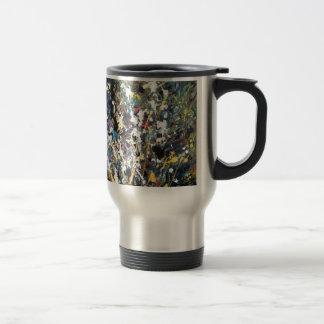art abstract coffee mug