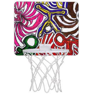 Art by Casey YEAH! Mini Basketball Hoop