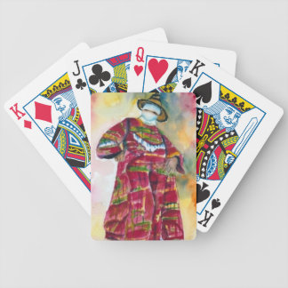 Art by Diane  Elgin Moko Jumbie Poker Deck