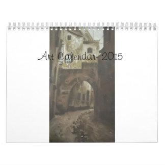 Art Calender 2015- by Terry Wall Calendars