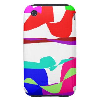 Art Colors Tough iPhone 3 Case