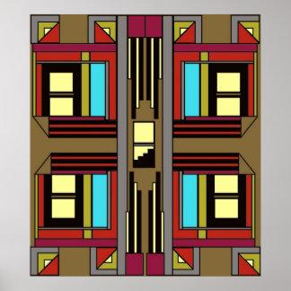 Art Deco 49 Poster