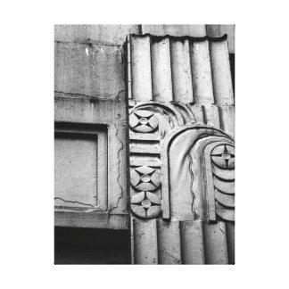 Art Deco Architecture Canvas Print